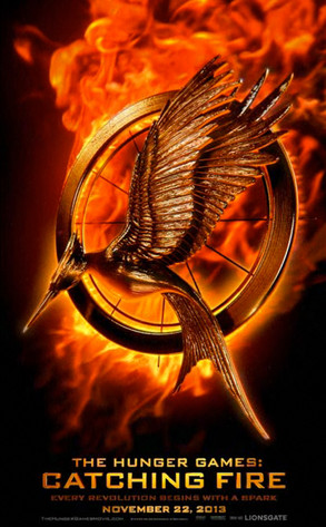 Hunger Games Catching Fire Symbol Ellie Gouldings Small White